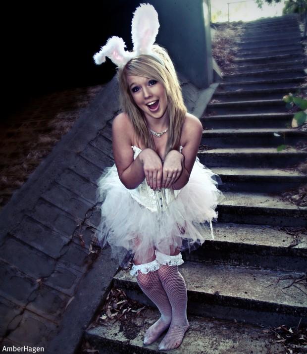 im a bunny c: hehe