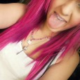 Pink hairrrr :D
