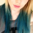 enjoying the blue (: