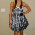 Senior year homecoming dress.