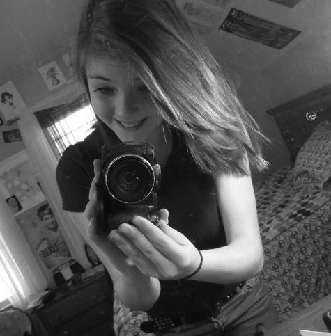I love taking pictures with my camera, fun habits(: