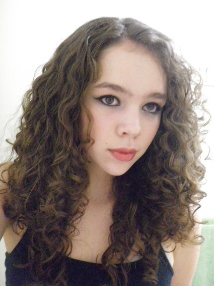 Me from before I dyed my hair. I am thinking about dying it back to that color so I can model again for magazines.