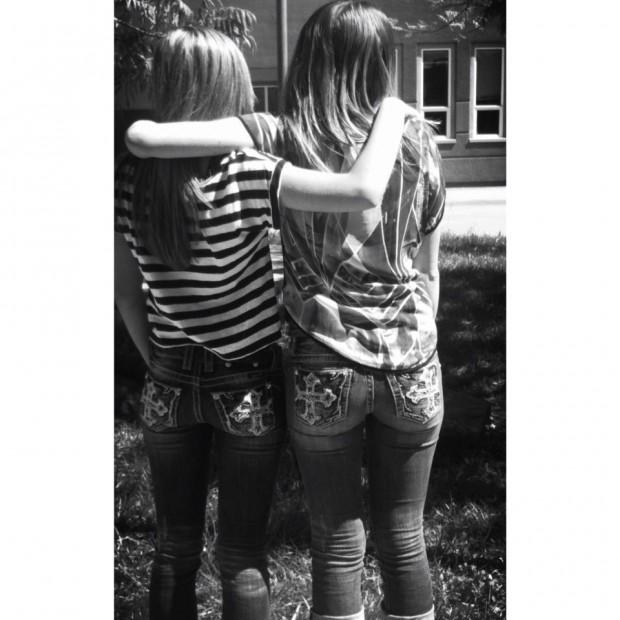 With My Best Friend Alycia. Love Her.