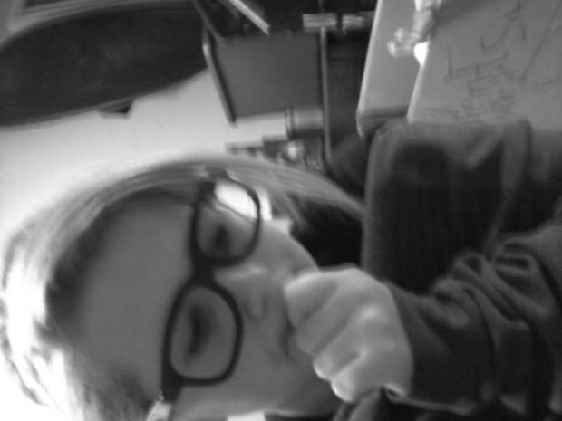 Swaqqing it like a nerdd(: