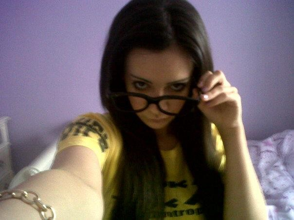 Ermm This Is Me Wiv Random Black Glasses LOL