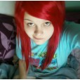 This was before when I had red hair...